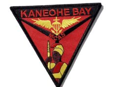 MCAS Kaneohe Bay Patch – No hook and loop
