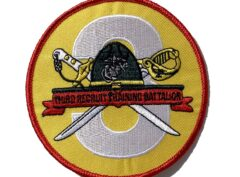 3rd Recruit Training Bn Patch – No Hook & Loop