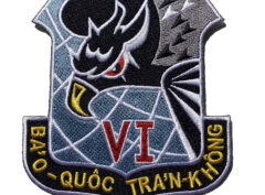 Republic of Vietnam Air Force (RVNAF) 6th Air Division Patch