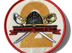 2nd Recruit Training Bn Patch – No Hook & Loop