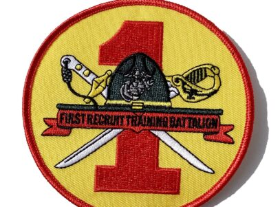 1st Recruit Training Bn Patch – No Hook & Loop