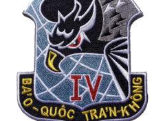 Republic of Vietnam Air Force (RVNAF) 4th Air Division Patch