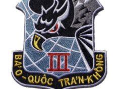 Republic of Vietnam Air Force (RVNAF) 3rd Air Division Patch