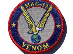 MAG-39 Venom Shoulder Patch- With Hook and Loop