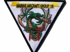 Marine Air Group 16 MAG-16- no Hook & Loop