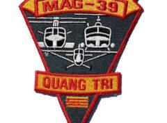 Marine Aircraft Group MAG-39 QUANG TRI- No Hook & Loop