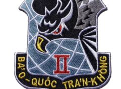 Republic of Vietnam Air Force (RVNAF) 2nd Air Division Patch