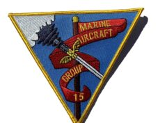 Marine Air Group MAG-15- No Hook & Loop