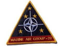Marine Air Group MAG-20- No Hook & Loop