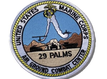 MCAGCC 29 Palms Patch – No Hook & Loop