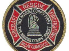 Crash Crew MCAF Quantico Patch – No Hook & Loop