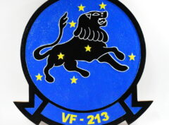 VF-213 Black Lions Plaque
