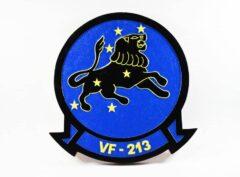 VF-213 Black Lions Plaque