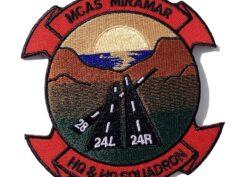 MCAS Miramar HQ & HQ Squadron- No hook and loop