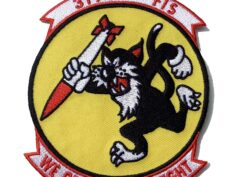 4 inch 319TH FIS WE GET OURS AT NIGHT Patch - Sew On