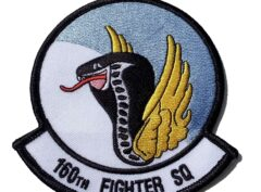 160TH FIGHTER SQ Flying Cobras Patch - Sew On