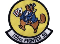 125TH Fighter Squadron Patch - Sew On