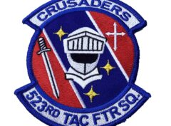 523 Tactical Fighter Squadron Crusaders Patch