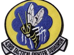 43RD Tactical Fighter Squadron Hornets Patch - Sew On