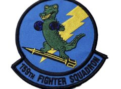 159TH FIGHTER SQUADRON Boxin' Gators Patch - Sew On