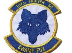 157TH FIGHTER SQ SWAMP FOX Patch - Sew On