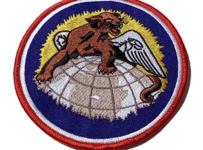 4 inch reproduction 100th Fighter Squadron Patch - Sew On