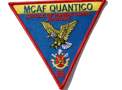 MCAF Quantico Patch – with Hook & Loop