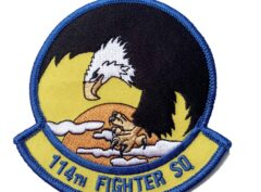 114th Fighter Squadron Patch - Sew On