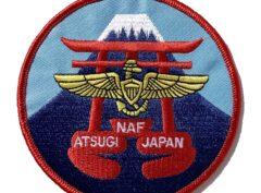 NAF Atsugi Patch -No Hook and Loop