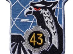 Republic of Vietnam Air Force 43rd Tactical Wing Patch