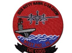 USS Kitty Hawk 1979 COD Patch – No Hook and Loop