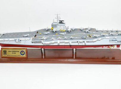 USS Forrestal CV-59 Aircraft Carrier Model