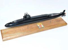 USS Kamehameha SSBN-642 Submarine Model (Black Hull)