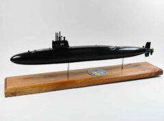USS George Bancroft SSBN-643 Submarine Model (Black Hull)