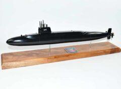 USS James K. Polk SSBN-645 Submarine Model (Black Hull)