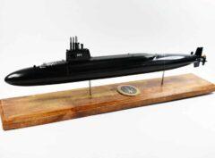 USS Henry L. Stimson SSBN-655 Submarine Model (Black Hull)