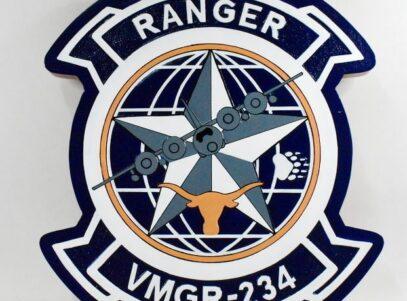 VMGR-234 Rangers Plaque