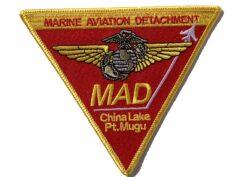 Marine Aviation Det. Patch – No Hook & Loop