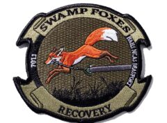 H&HS Swamp Foxes Recovery Patch – with Hook & Loop