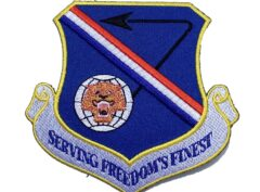 Serving Freedom's Finest 377th Air Base Wing Patch – Plastic Backing