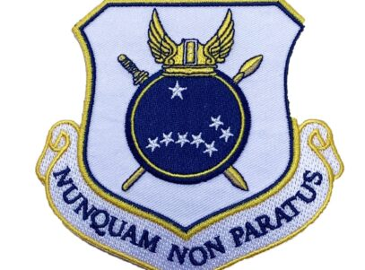 NUNQUAM NON PARATUS 440th Airlift Wing Patch – Plastic Backing