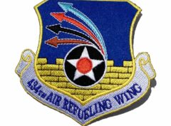 434th Air Refueling Wing Patch – Plastic Backing