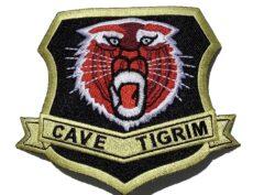 Cave Tigrim 460th Fighter-Interceptor Training Squadron Patch