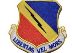 Libertas Vel Mors 388th Fighter Wing Patch – Plastic Backing