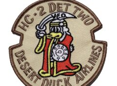 HC-2 Det Two Desert Duck Airlines Patch – Plastic Backing