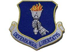 DEFENSORES LIBERTATIS 319th Reconnaissance Wing Patch – Plastic Backing
