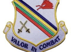 Valor in Combat 354th Fighter Wing Patch – Plastic Backing
