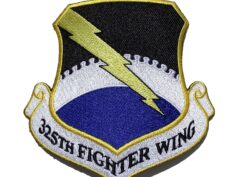 325th Fighter Wing Patch – Plastic Backing