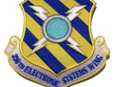 350th Electronic Systems Wing Patch – Plastic Backing