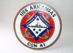 USS ARKANSAS CGN-41 Plaque